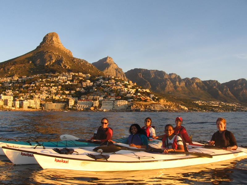 Cape Town Kayaking is really cool