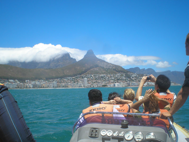 Table Mountain as seen from Table Bay