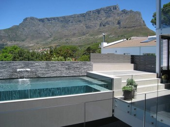 View of Table Mountain from Rooms over Pool
