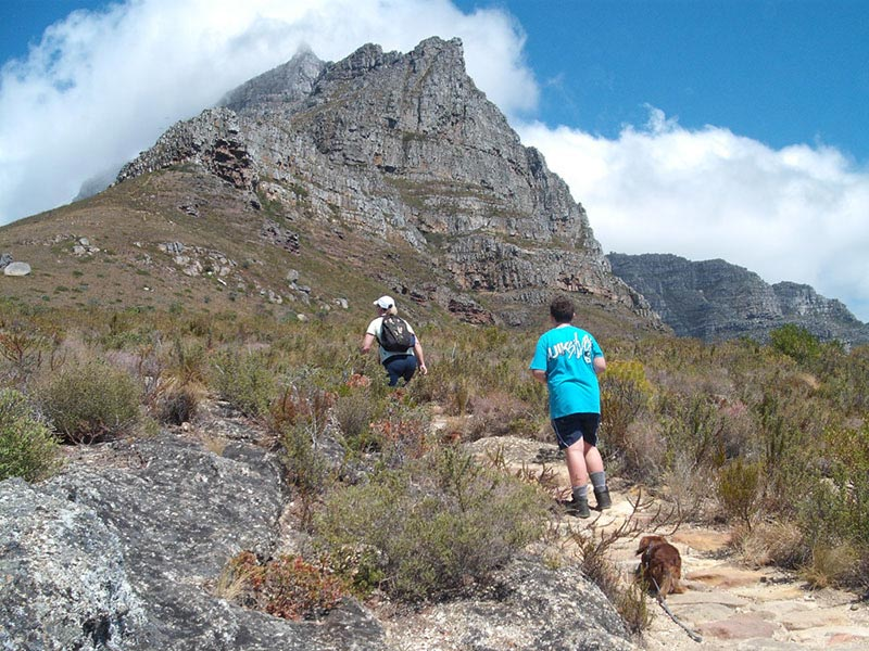 Cape Town has outstanding Hiking Trails