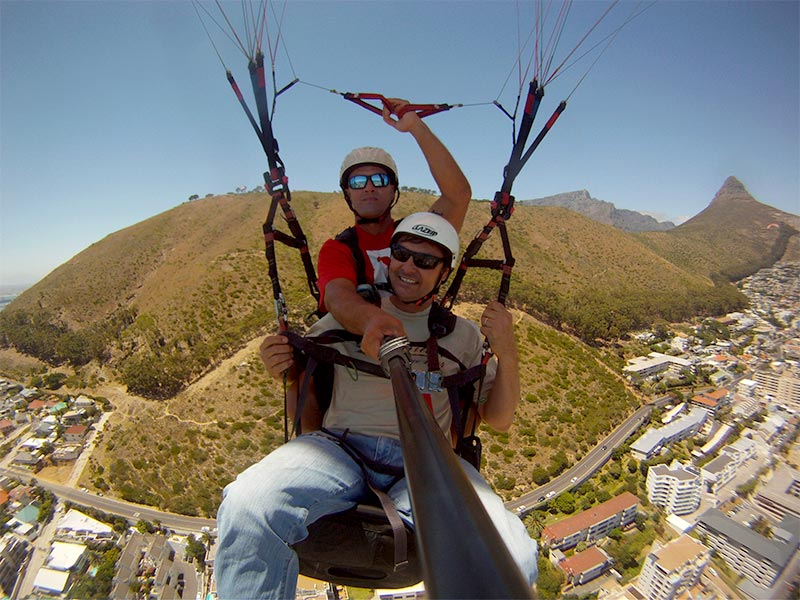 Soar over the Skyline of famous Cape Town